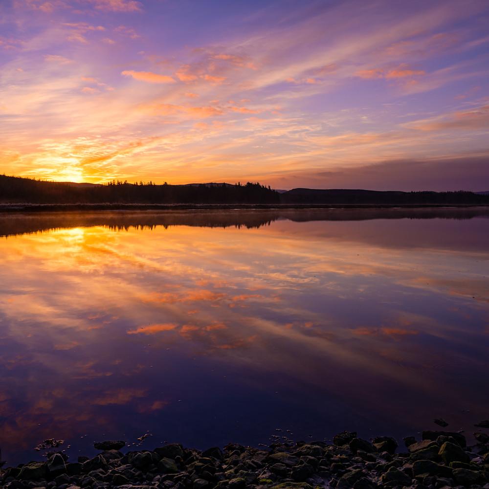 Winter sunrise palix river washington 2021 efuke3