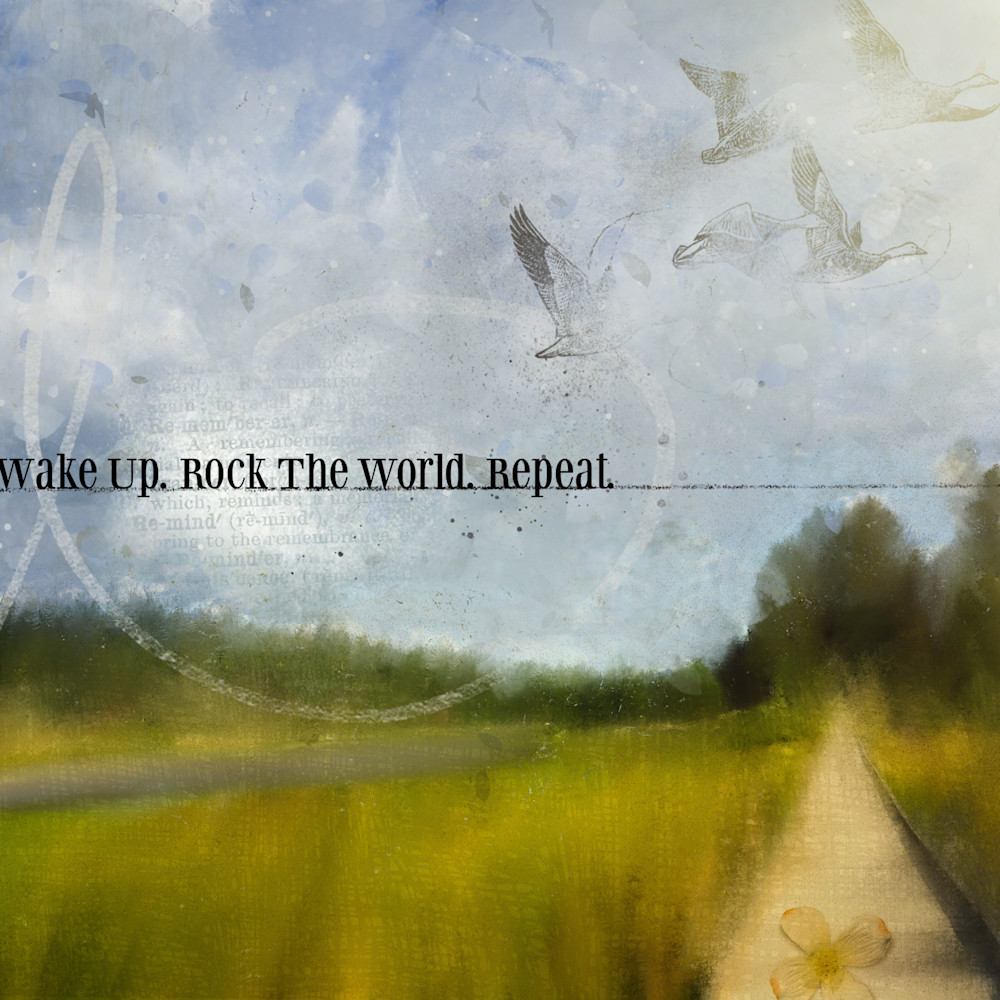 Wake up rock the world n12w0t