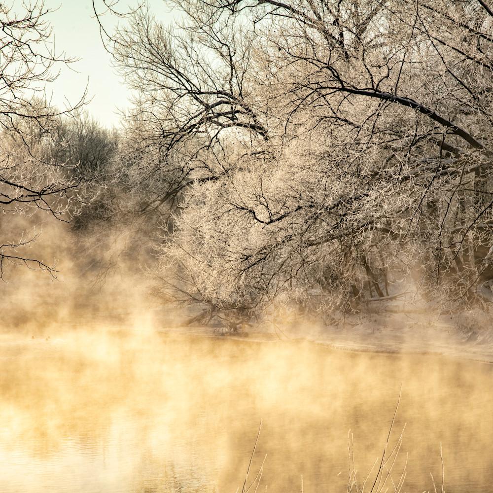 Spring river steam ice 3393 fss m5719a