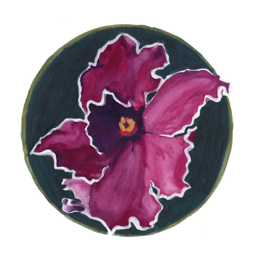 Purpleflower 8x8 pygqtu