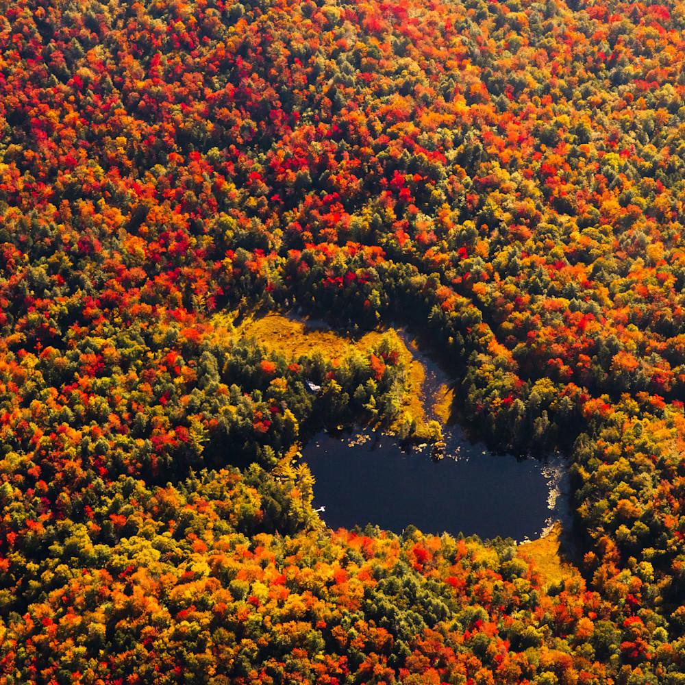 Big chief pond fall aerial rv3hhf
