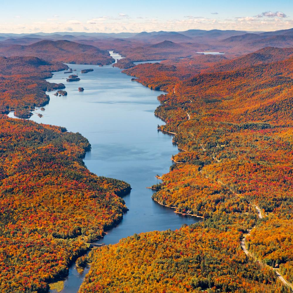 Indian lake fall aerial v1 um2bgy
