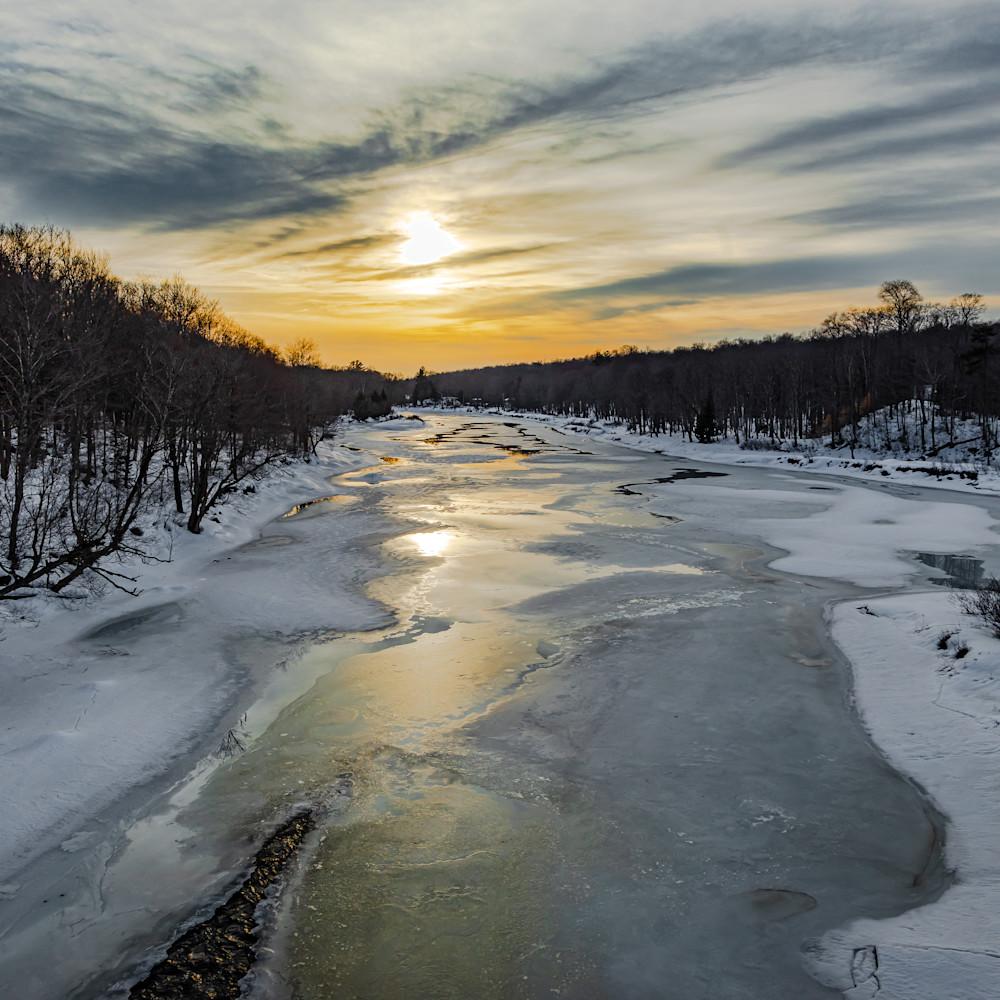 Moose river sunset f6rfgi