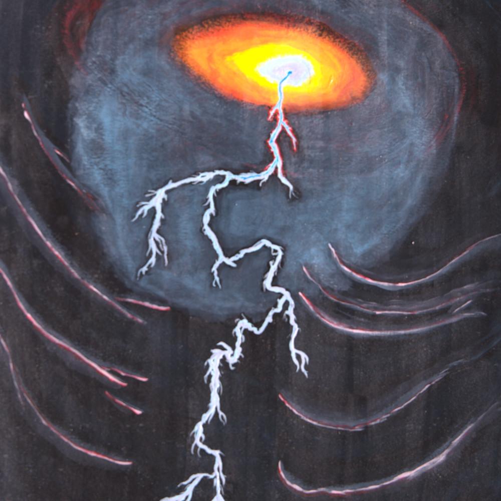Blue crazed lightning zvetes