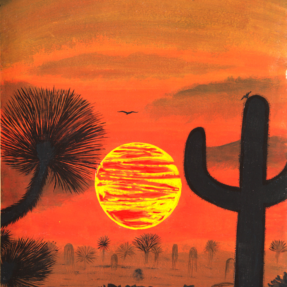 Desert sunset udblrf