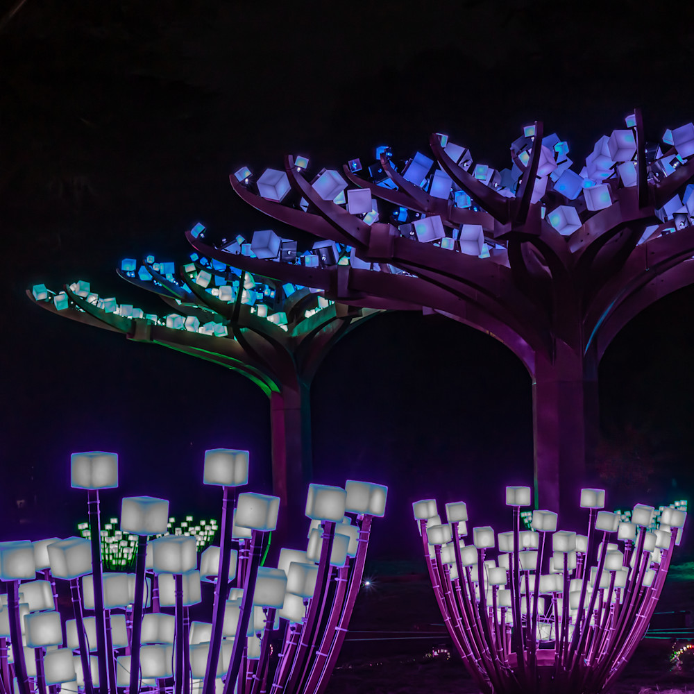Glow cubes rnykuf