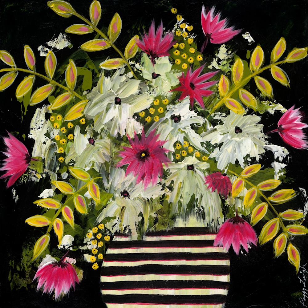 Flowers in b w vase png hkhsgq