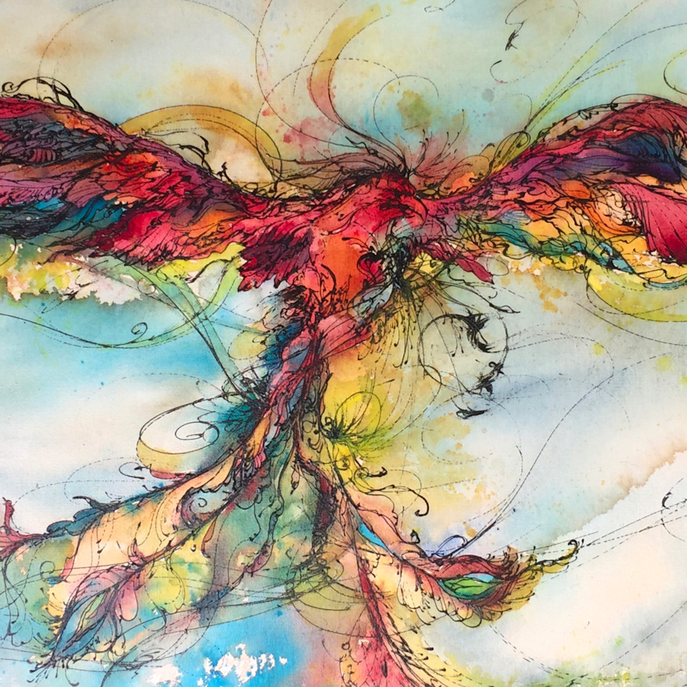 Rainbow phoenix fqde7t