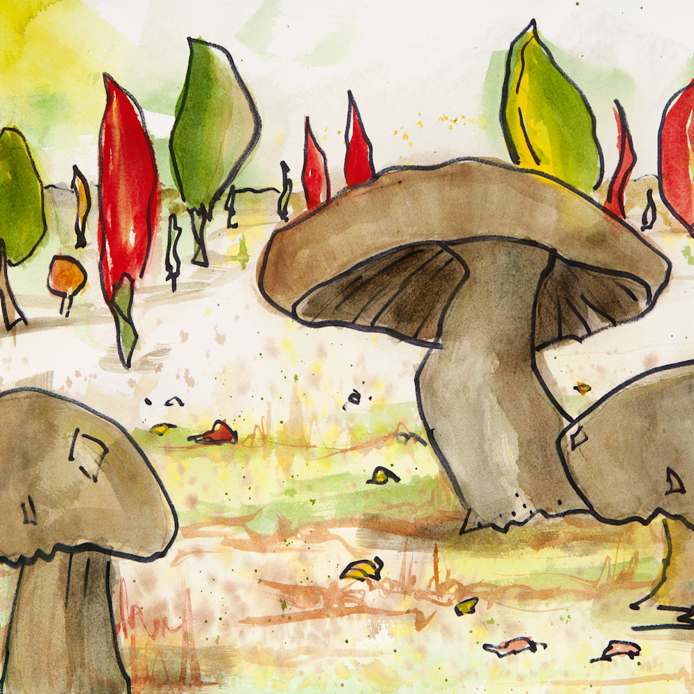 Mushrooms and peppers hoo8fe