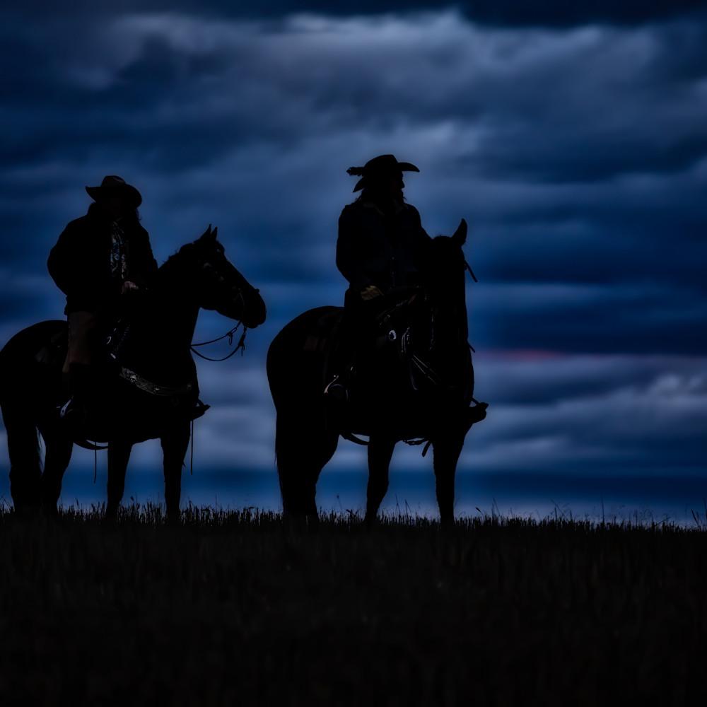 Sunrise horse and rider silhouette la3st0