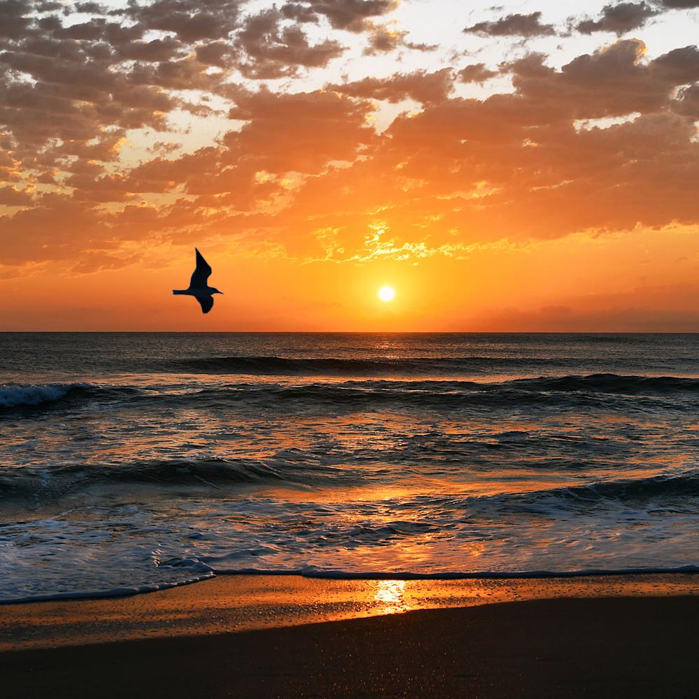 St. augustine beach sunrise zdozpb