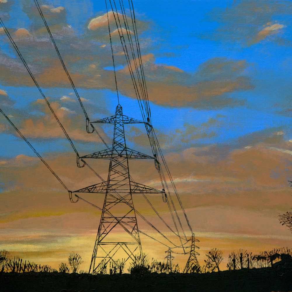 Watford pylons bkk9k8