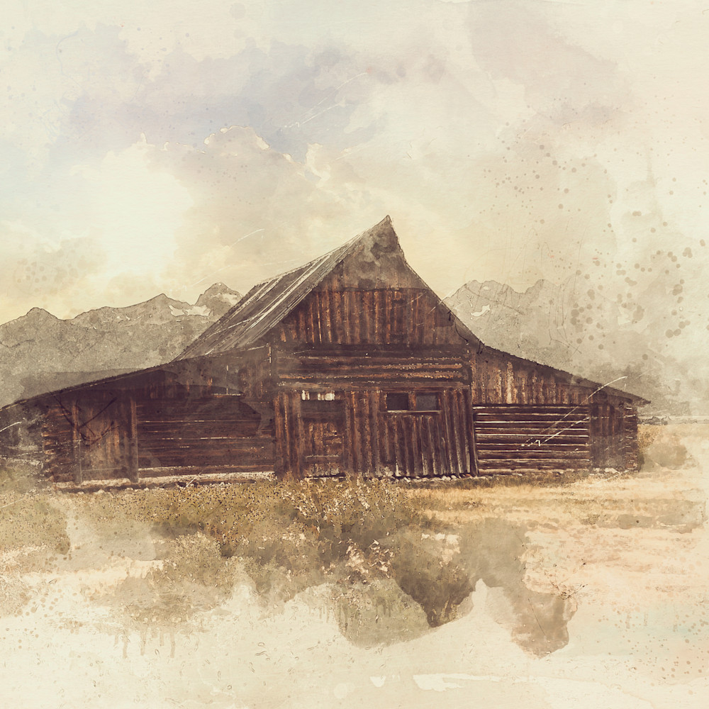 Teton barn print gagq48