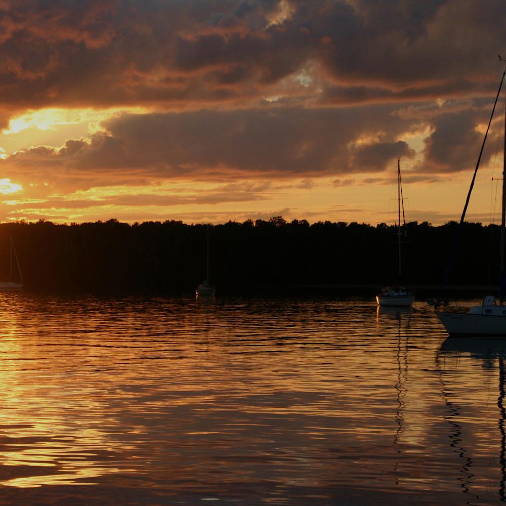 At anchor stockton island apostle islands of lake superior lzxyl0