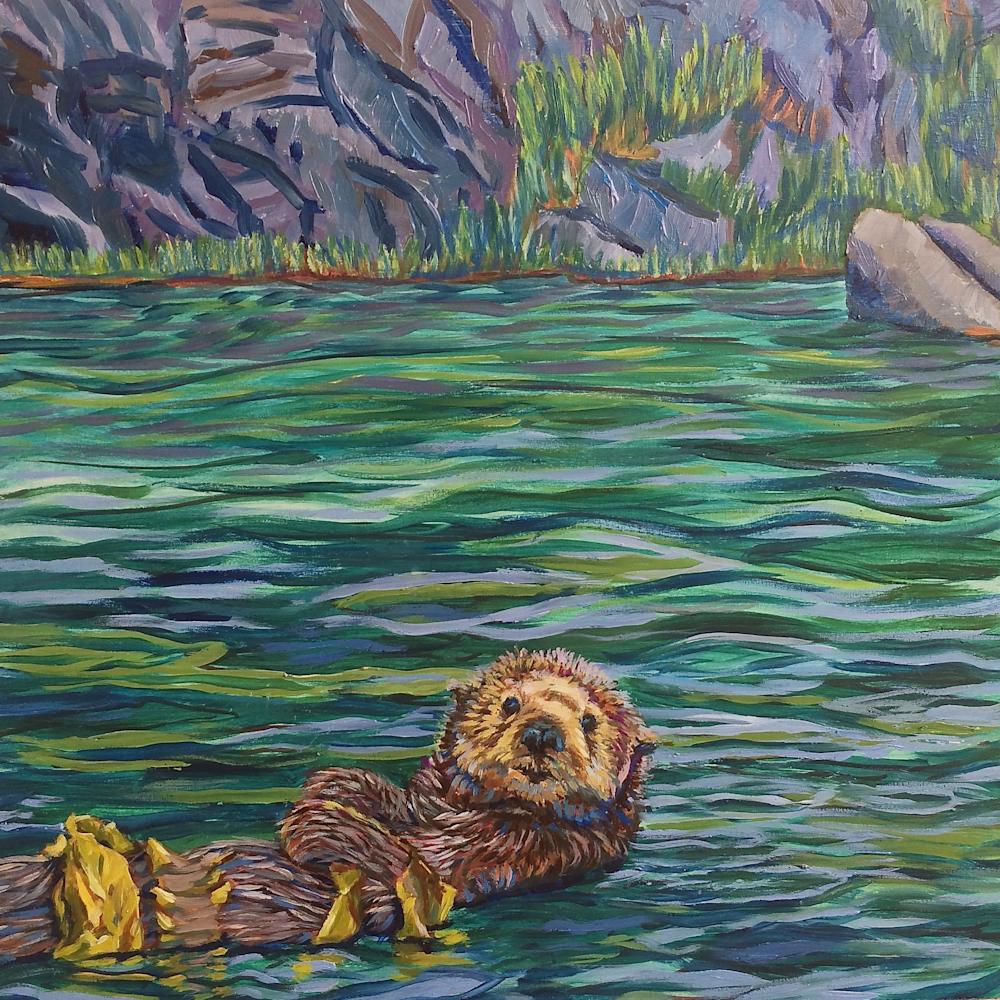 Seaweed snack for otter homer voomki