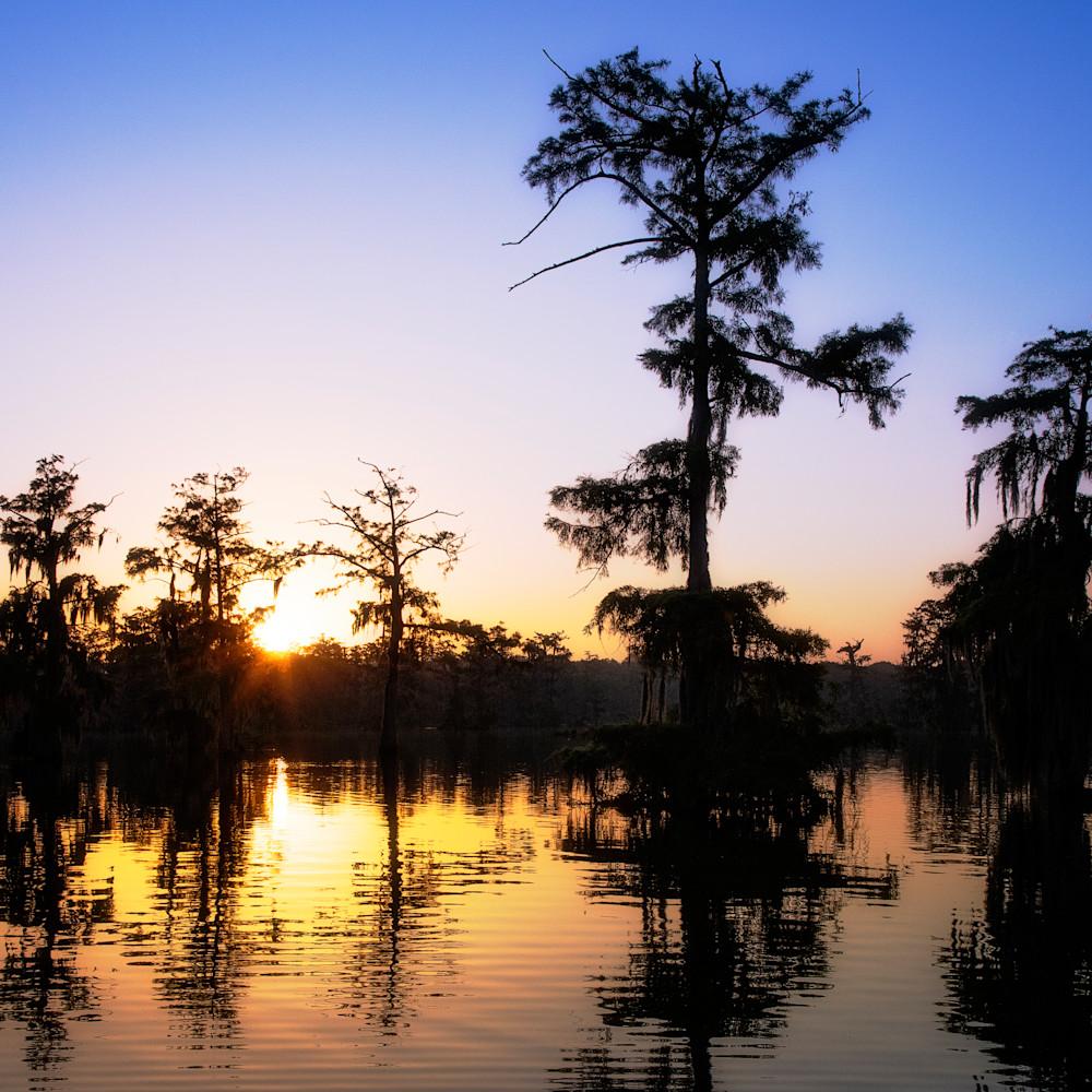 Andy crawford photography lake martin sunrise vd5x8n