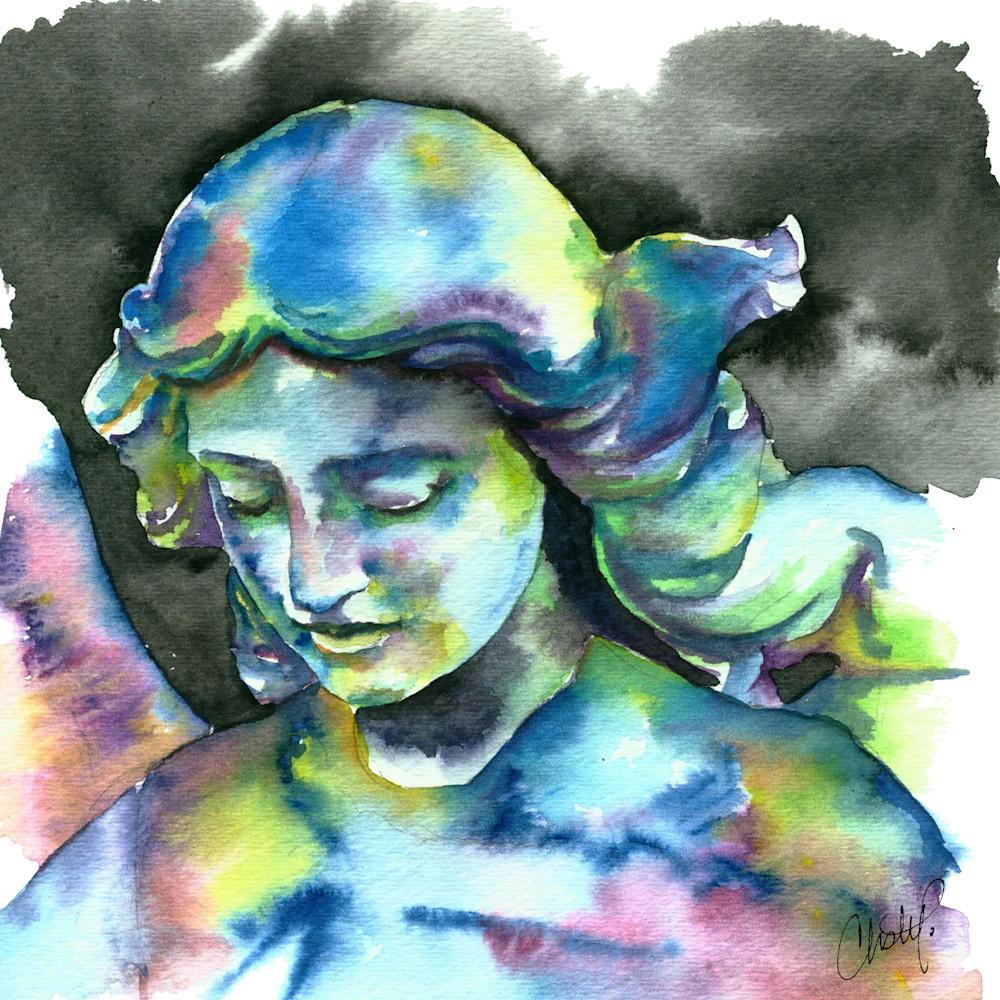 Angel statue vlvjju