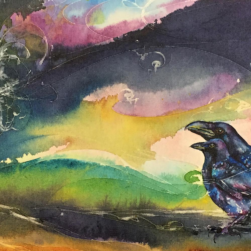 Crow raven cxvnea