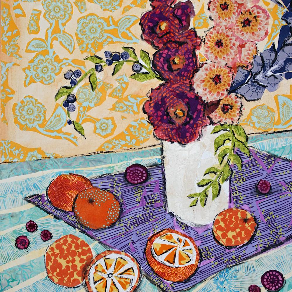 Blood oranges and berries print xjnyfa