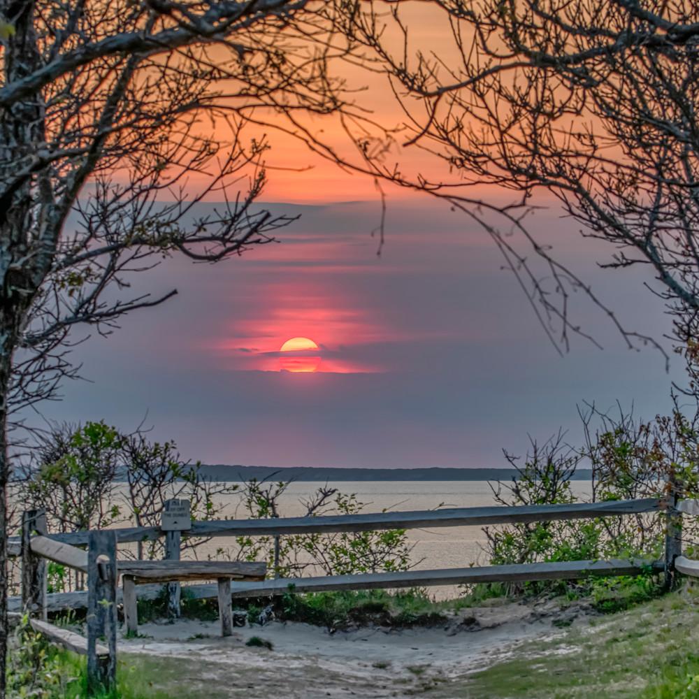 Great rock bight sunset overlook qucdo7