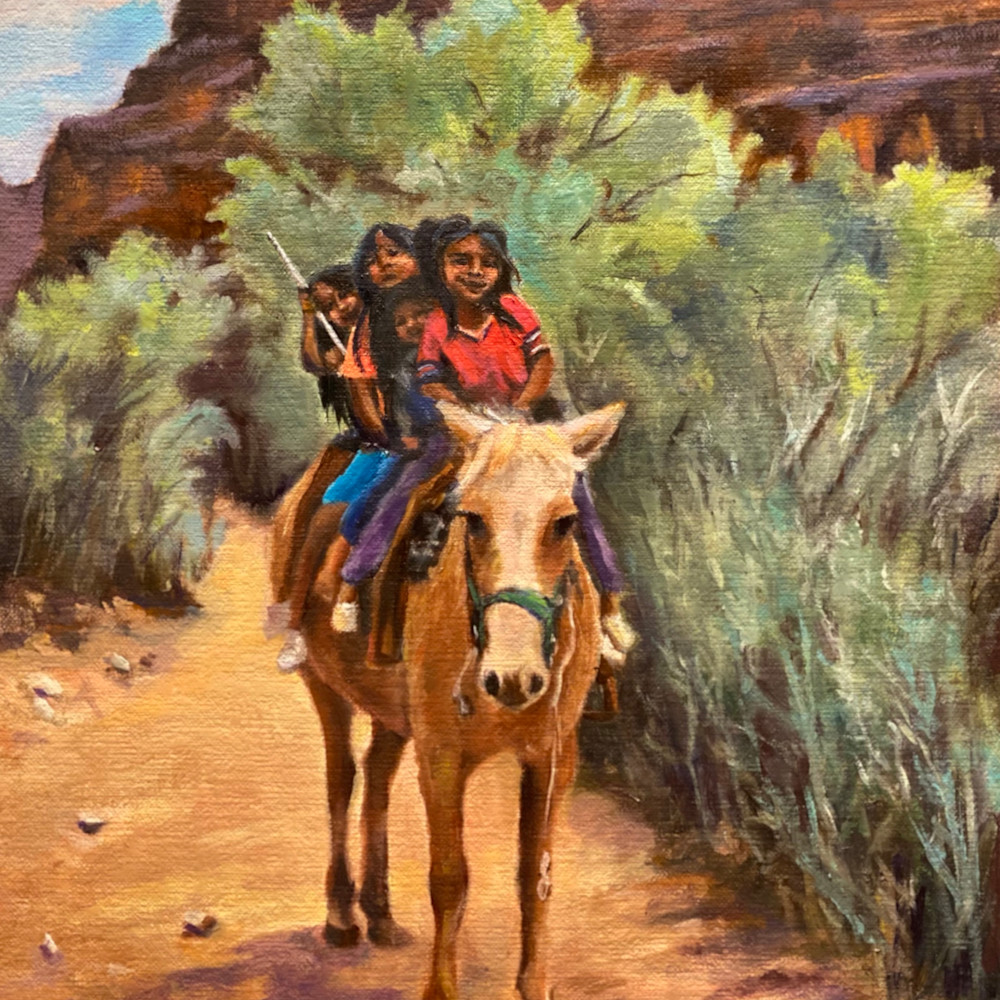 Little ladies of the grand canyon11x14 n3pjes