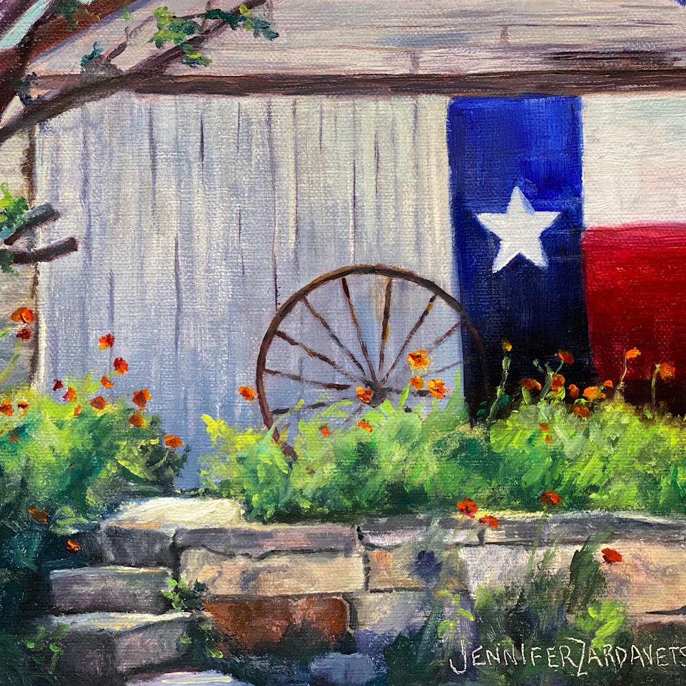 Texas pride and poppies14x11 kh0eod