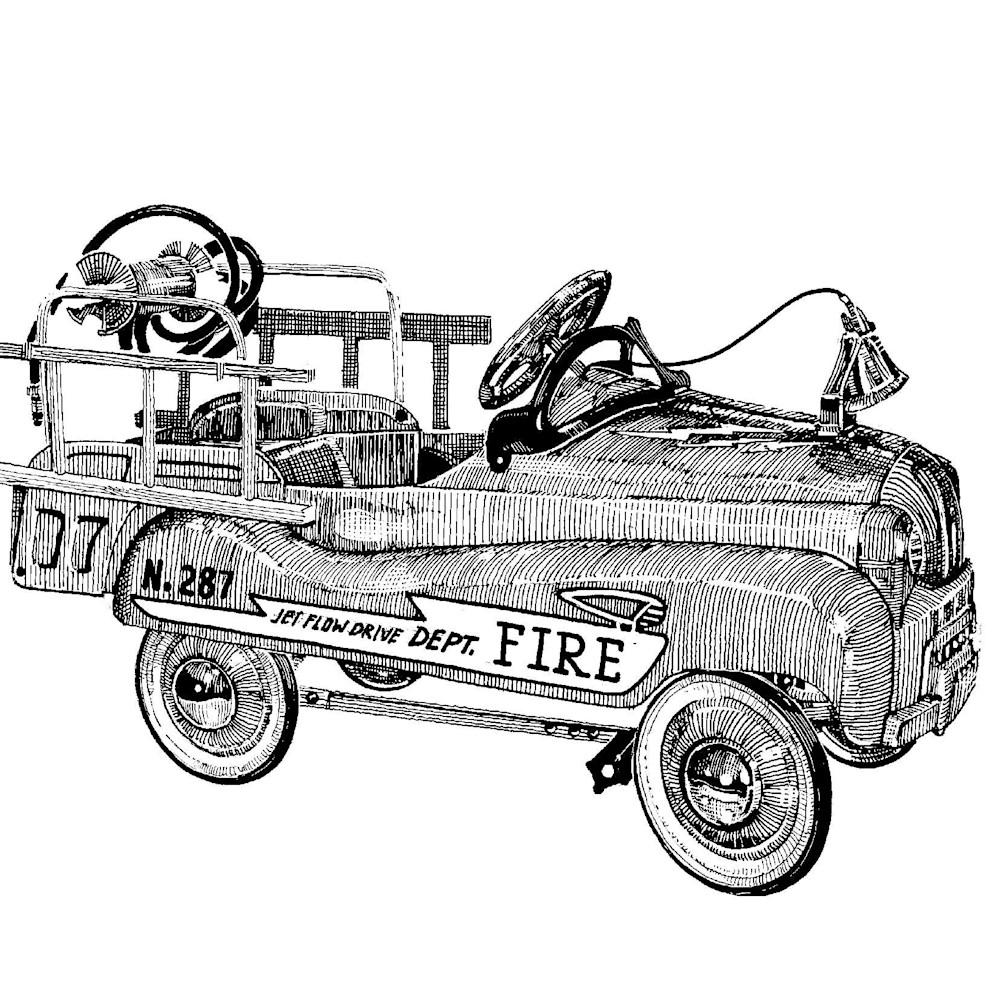 Fire truck kkouea