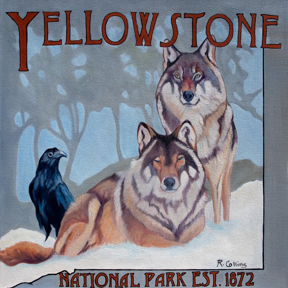 Gray wolves of yellowstone q5mlfq