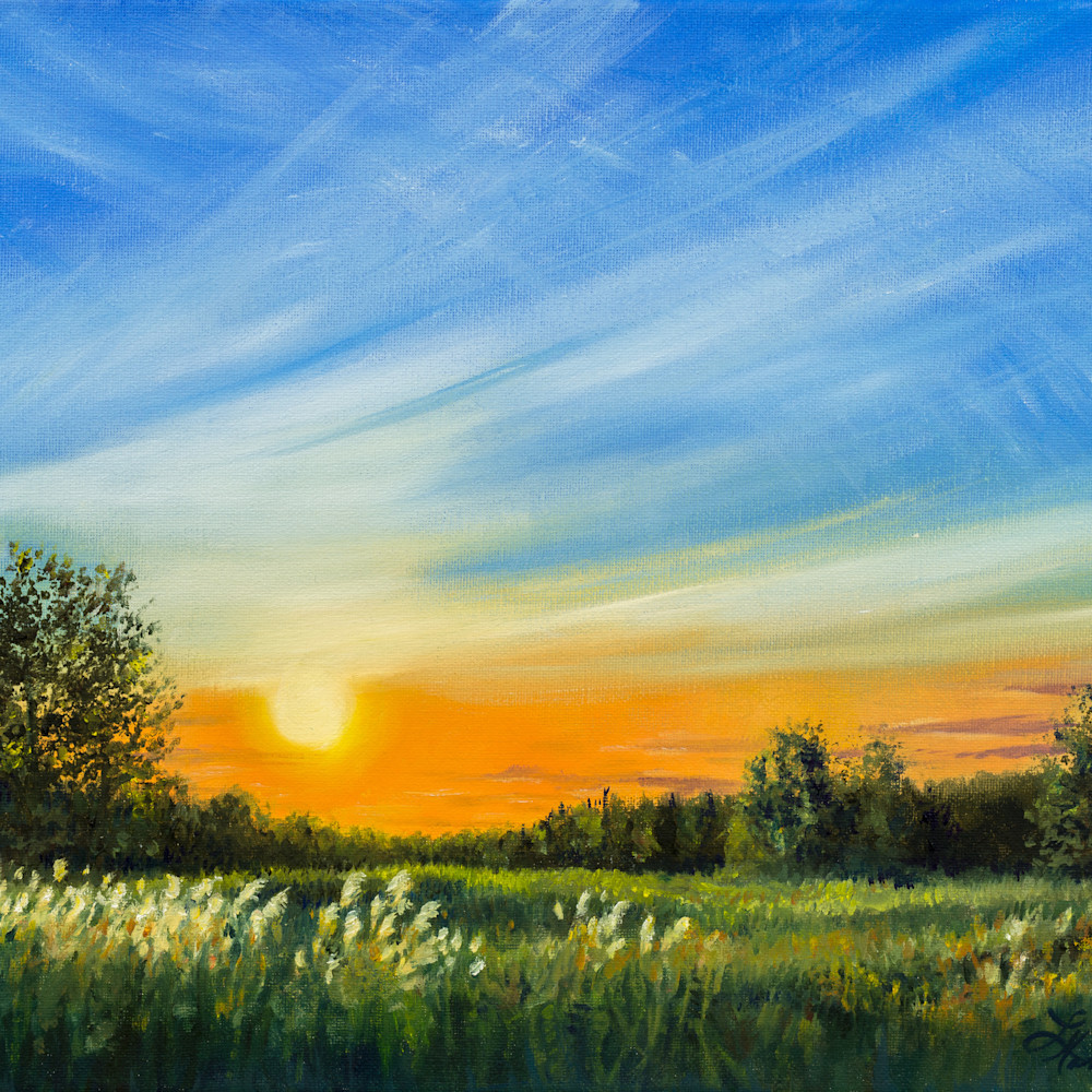 Roadside sunset 2 gwww2d