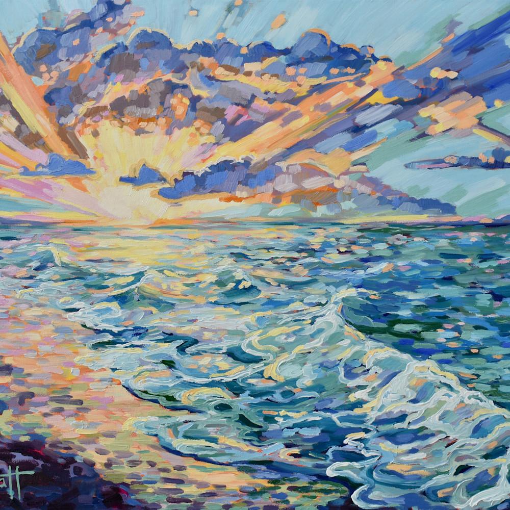 Gulf coast paradise painting x large bfoqyc