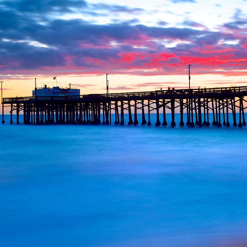 Balboa pier sunset 2010 timex n2t89k