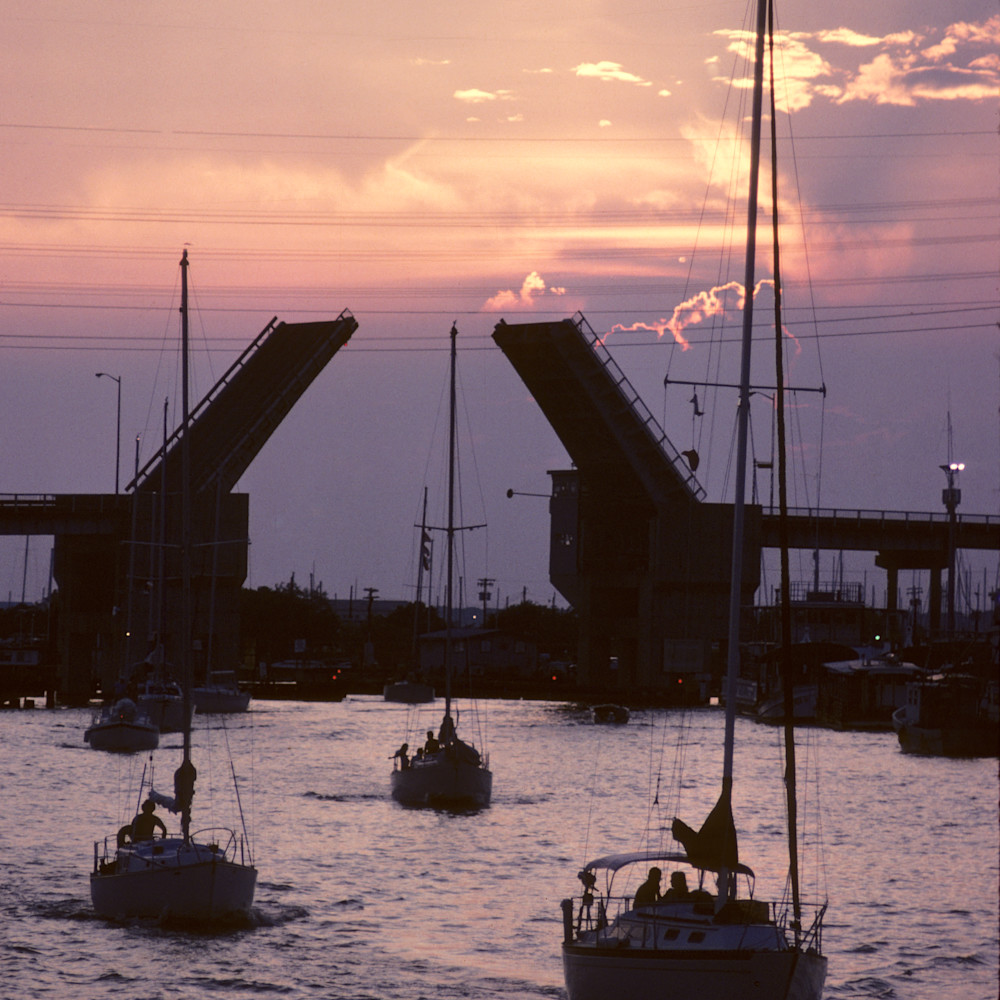 1981 kemah seabrook draw bridg412 draw bridge sail dqxnrl