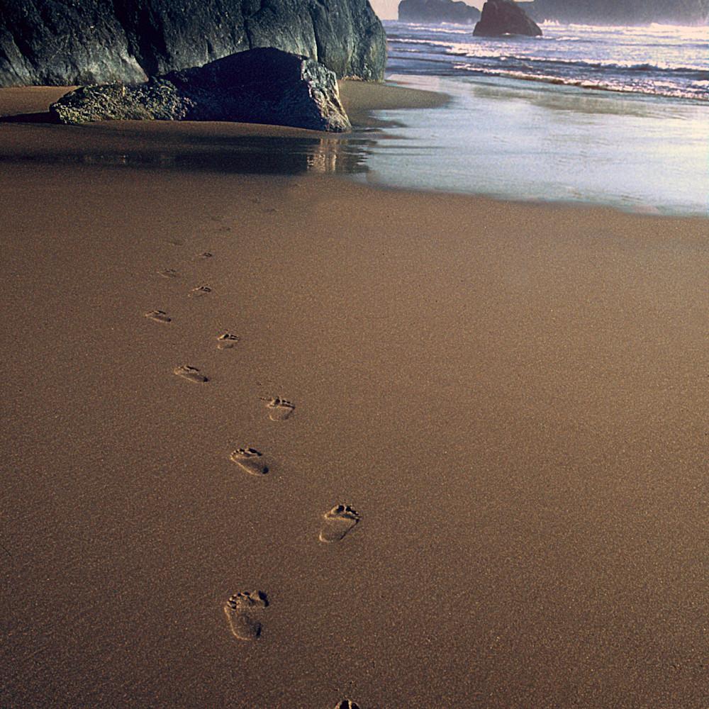 Ocean footprints by ruth burke art qkxu5e
