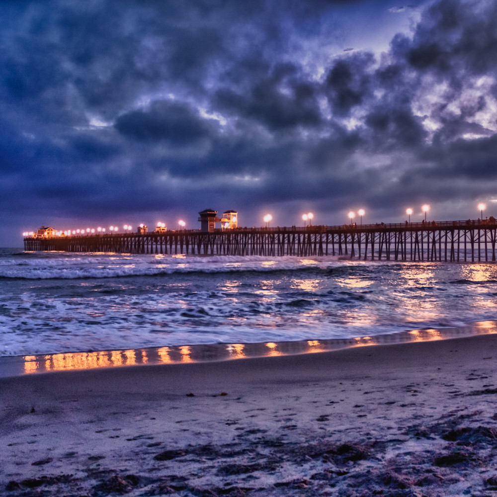 Oceanside pier after sunset 1 z5a9ra