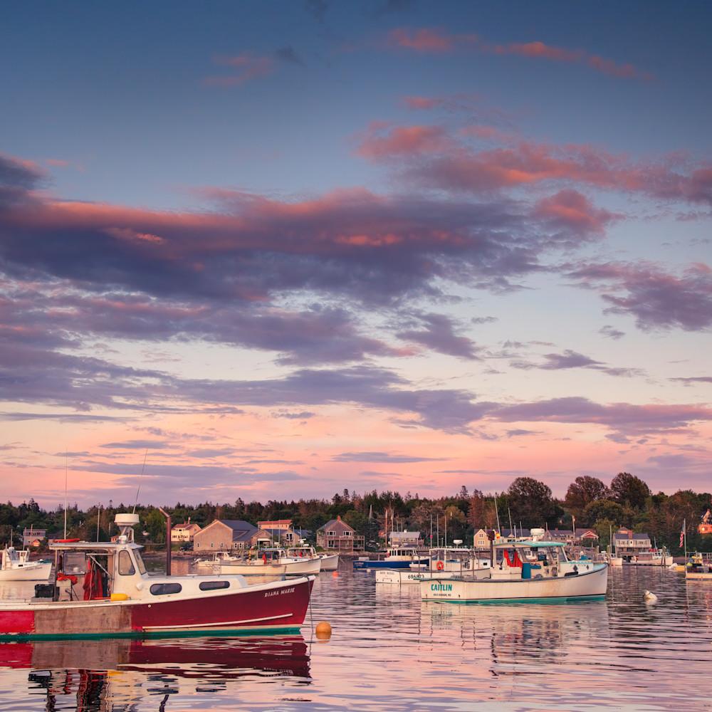 Andy crawford photography bernard harbor sunset sk9mal