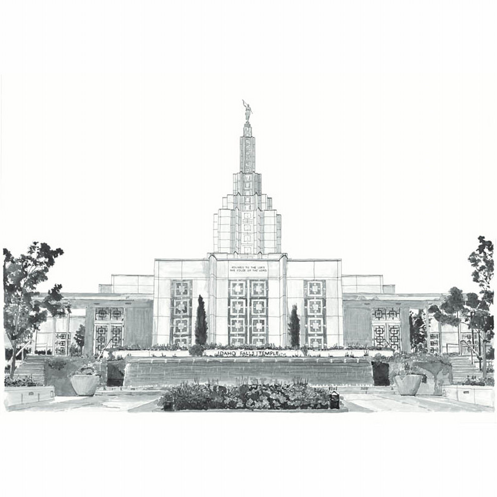 Idaho falls idaho temple b w jd thor web dyqddm
