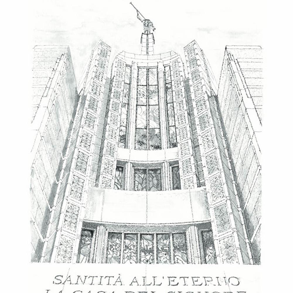 Rome italy temple   windows of heaven b w jd thor web jtm4eo
