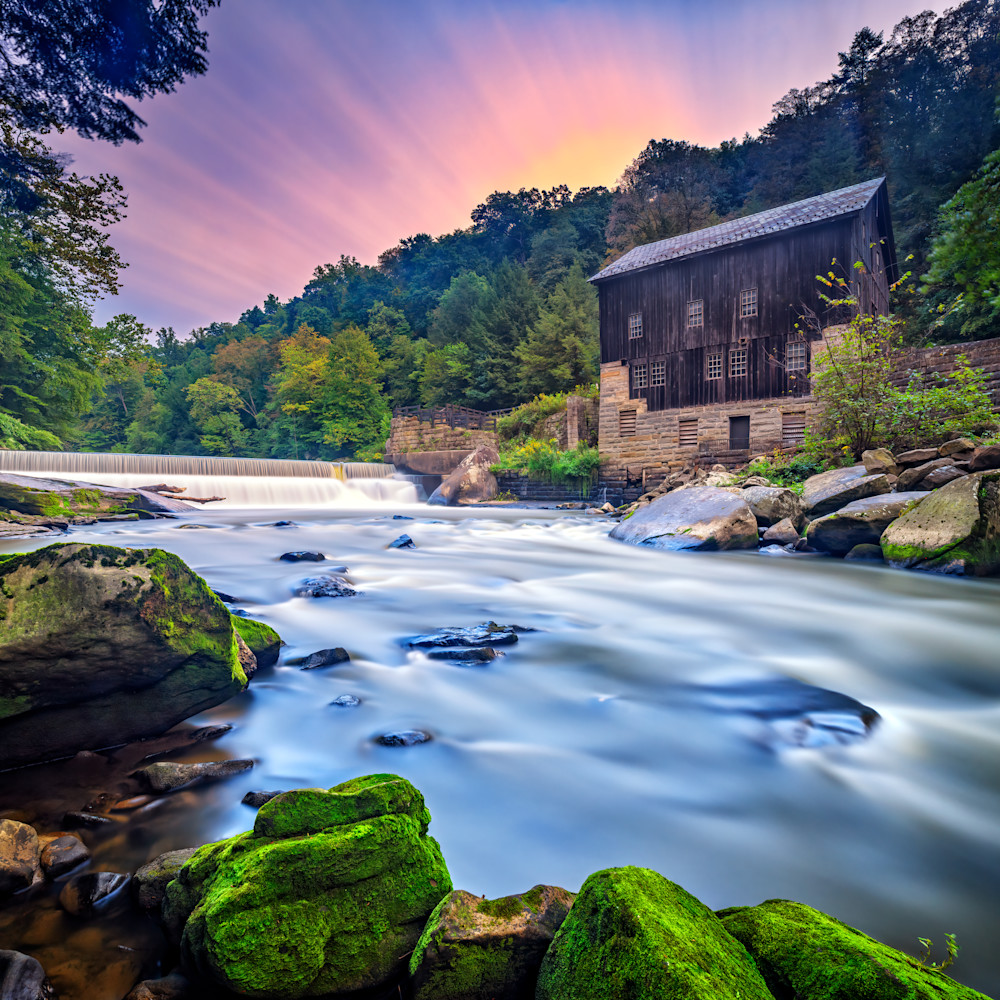 Andy crawford photography morning at mcconnell s mill nrkj0i