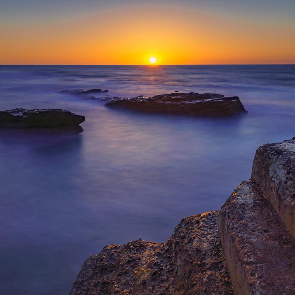 La jolla sunset with stones xtbltj