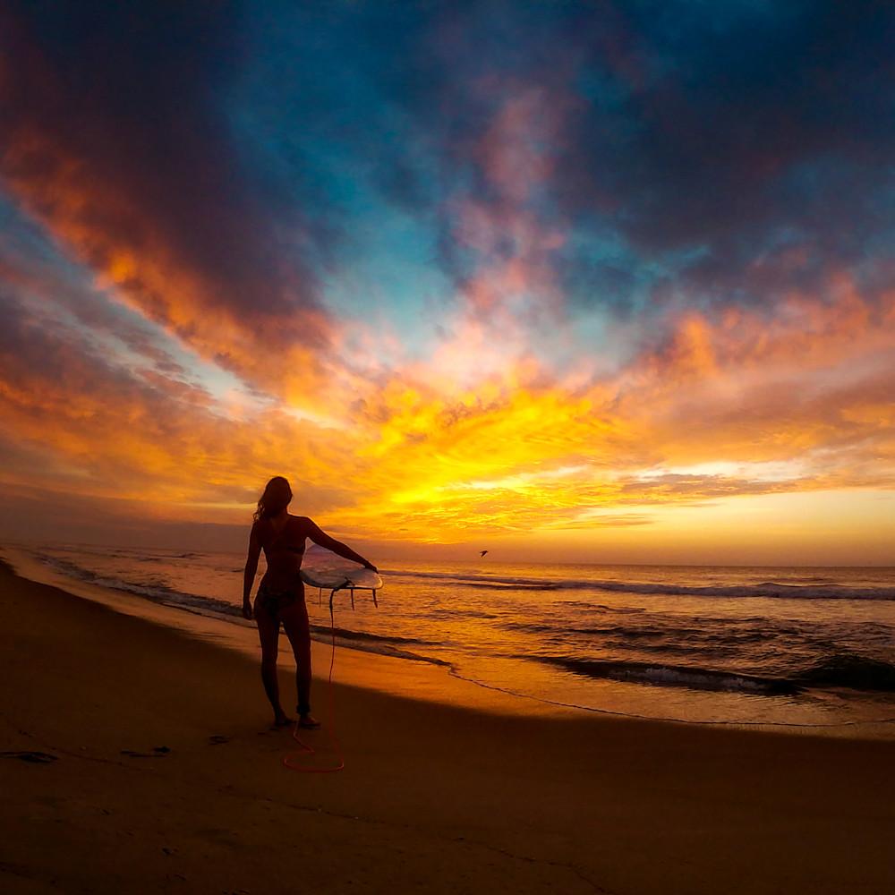 Sunrise surf tote bag zh0aus