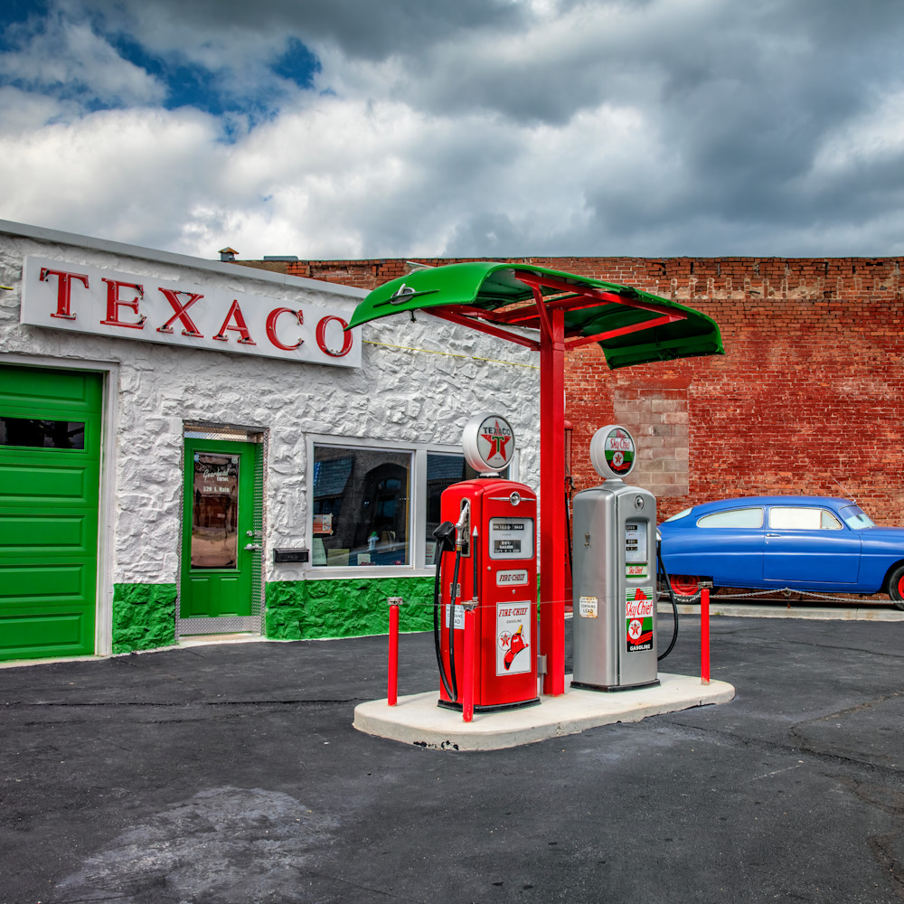 Andy crawford photography mother road texaco wy7kt0