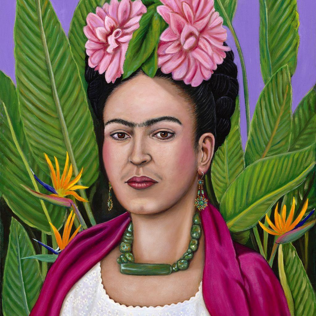 Frida in floral pgkldf