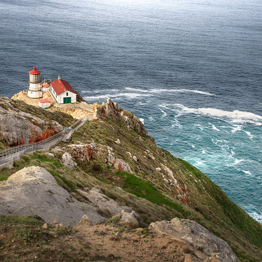 Daybreak pt reyes lighthouse sg5dn0