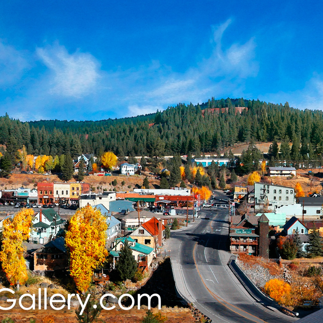 Autumn morning truckee ofydnx