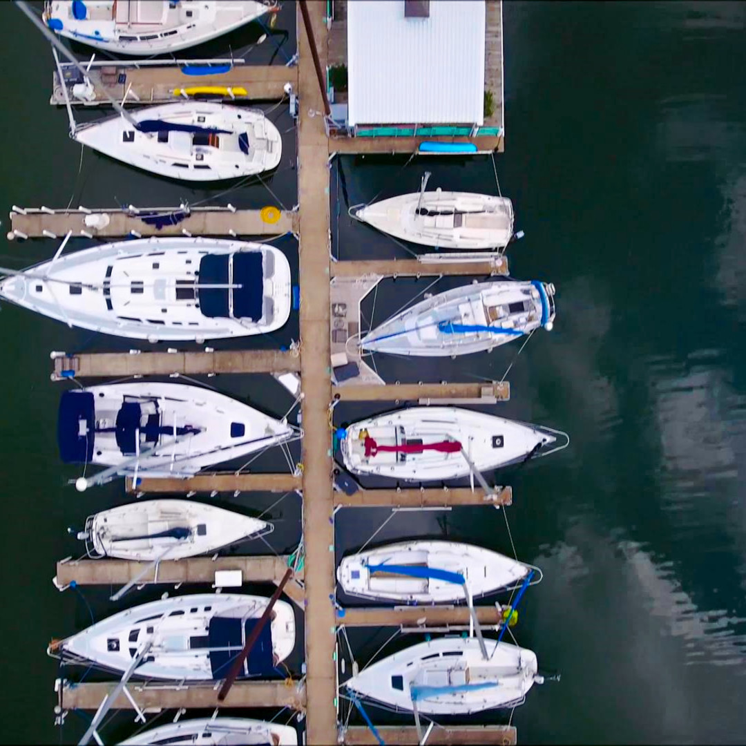 Birds eye of boats2 son1uw