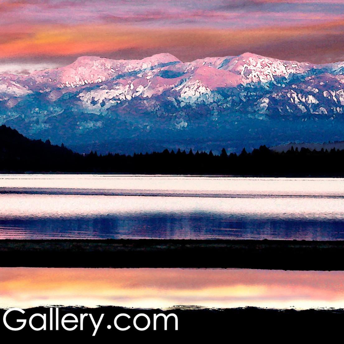 Winter solitude donner lake ws9k47