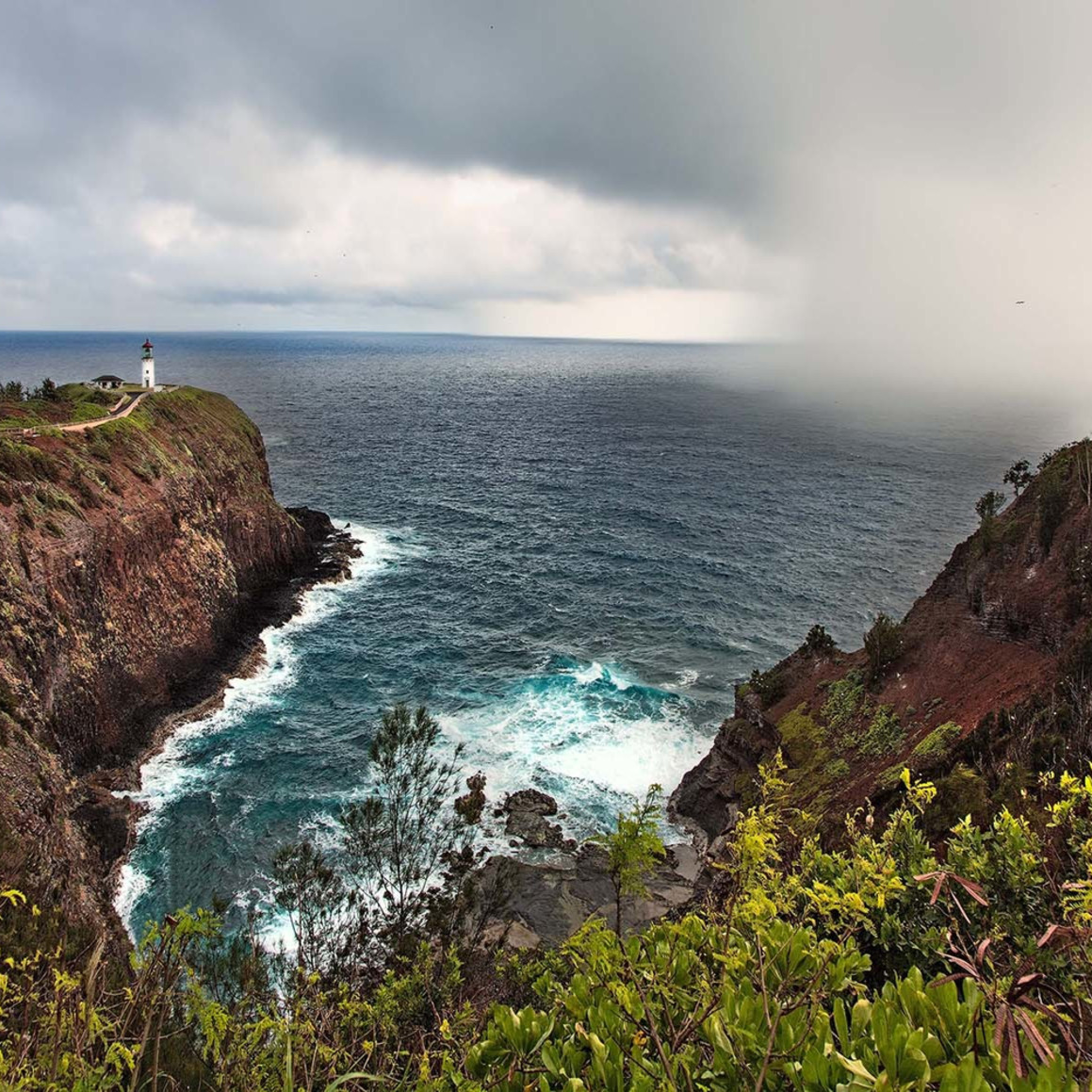 Kilauea lighthouse squall o2rmbm
