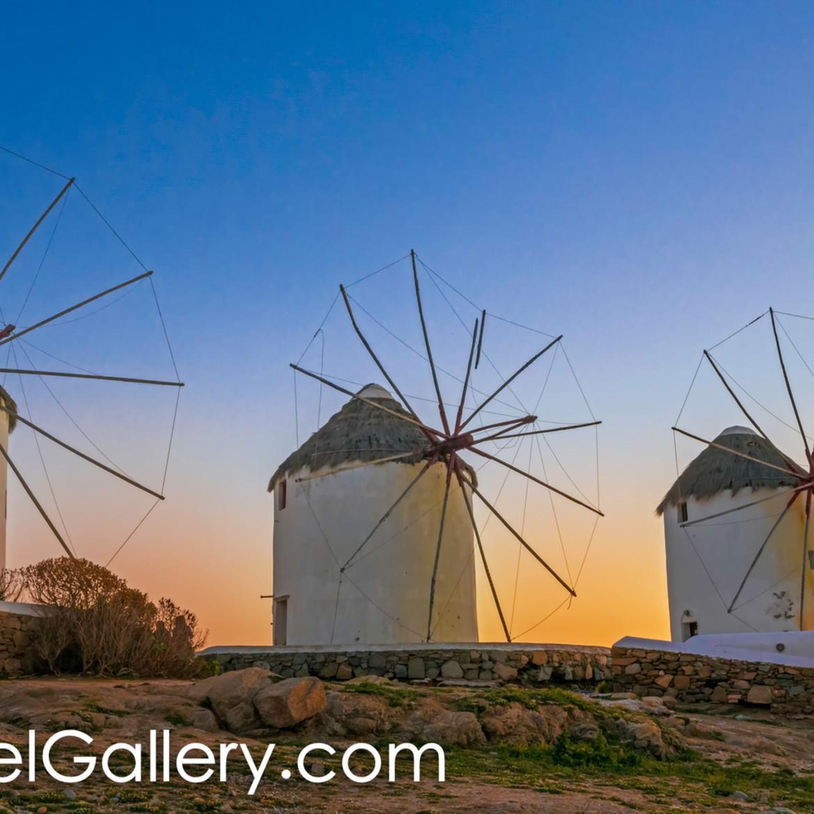 Mykonos windmills dcear5