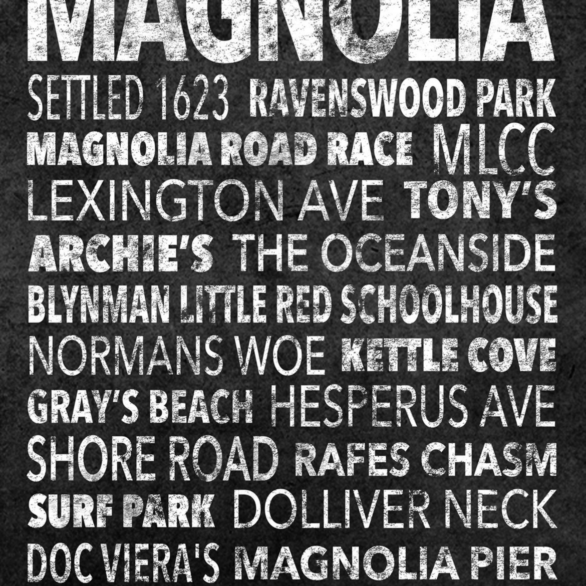 Hometown graphics magnolia black full 72dpi uxnvad