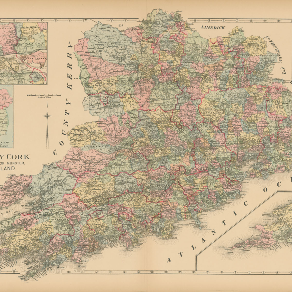 Map of county cork lz1gem